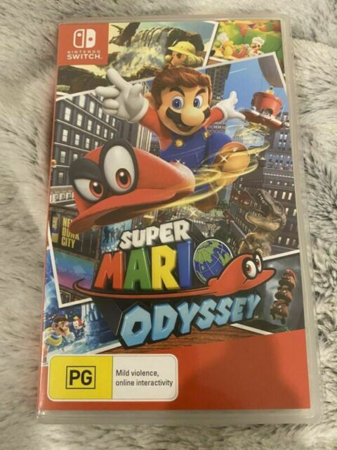 Super Mario Odyssey- Nintendo Switch Brand New