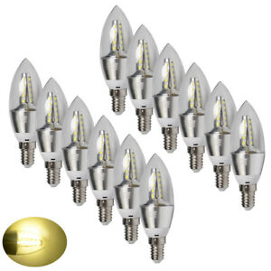 6x-6W-E14-LED-Candle-Bulbs-SES-SMD-Lamps-Spotlight-Warm-White-Light-Energy-Save