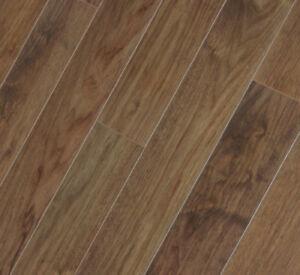 Ac5 Click Dark Brown Walnut Engineered Wood Floor Packs