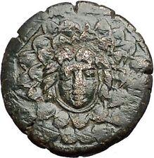 AMISOS in PONTUS MITHRADATES VI the GREAT Gorgon Aegis Nike Greek Coin i55755