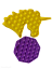 thumbnail 13 - Push Pops  its bubbles toy Sensory fidget stress relief anti-anxiety