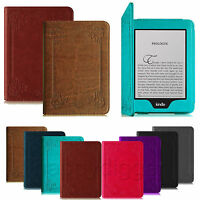 For Amazon Kindle Paperwhite 6 Folio Book Style Leather Smart Case Stand Cover