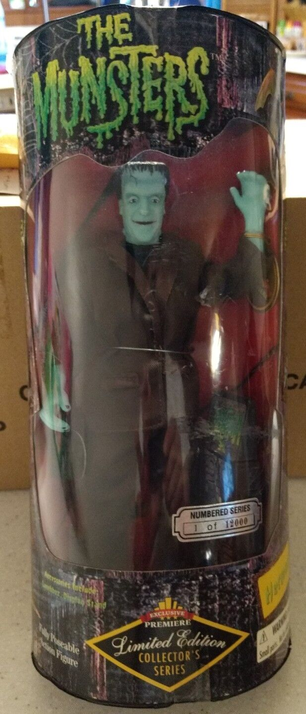 The Munsters HERMAN 10  Doll Action Figure Exclusive Premiere - NIP
