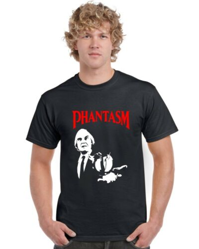 Phantasm T Shirt Tall Man Black Cotton