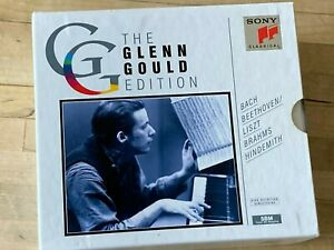 Glenn Gould Edition Vol. II, Hindemith Liszt Bach u.a. 6 CD-BOX SONY CLASSICAL