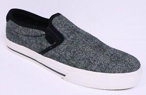 About Sneakers New Details Slip Shoes On Herringbone Vaughn Polo Ralph Blackcream Wool Lauren EDIWH2eYb9