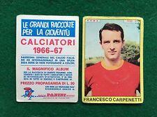 CALCIATORI 1966/67 66/1967 ROMA CARPENETTI Figurina Sticker Panini (NEW)
