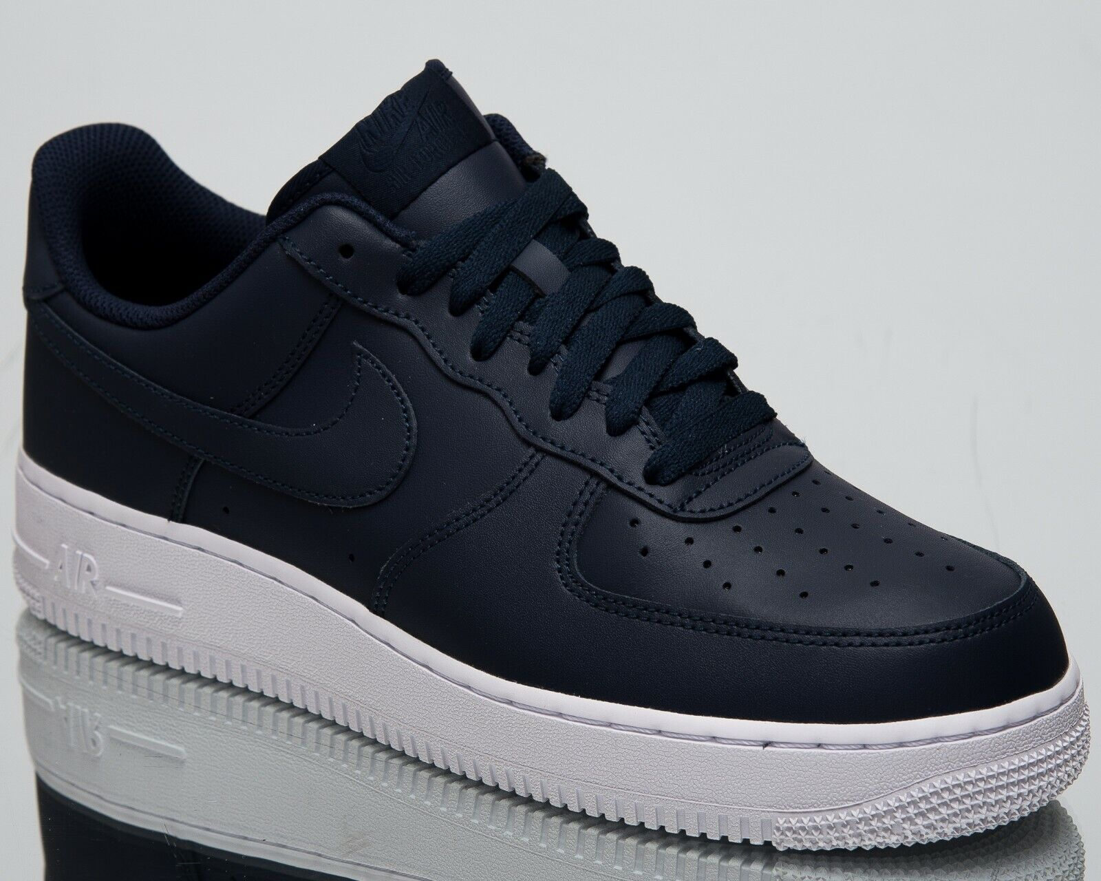 Nike Air Force 1 '07 New Men's Lifestyle shoes Obsidian White Low Top AA4083-400