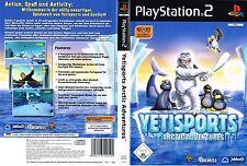 Yeti porte: Arctic Adventure EYETOY (Sony Playstation 2, 2005, DVD-BOX)