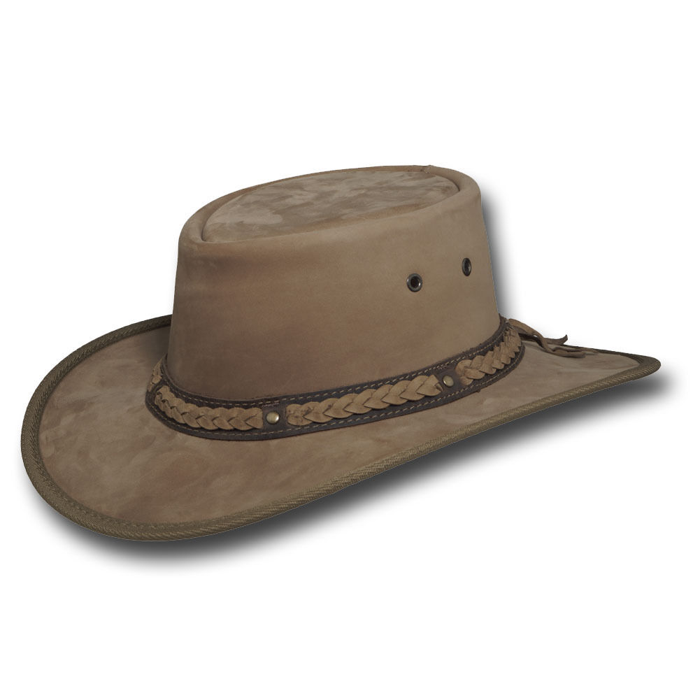 1022RC Barmah Hats Squashy Bronco Leather Hat 1022CC 1022HC 1022BC