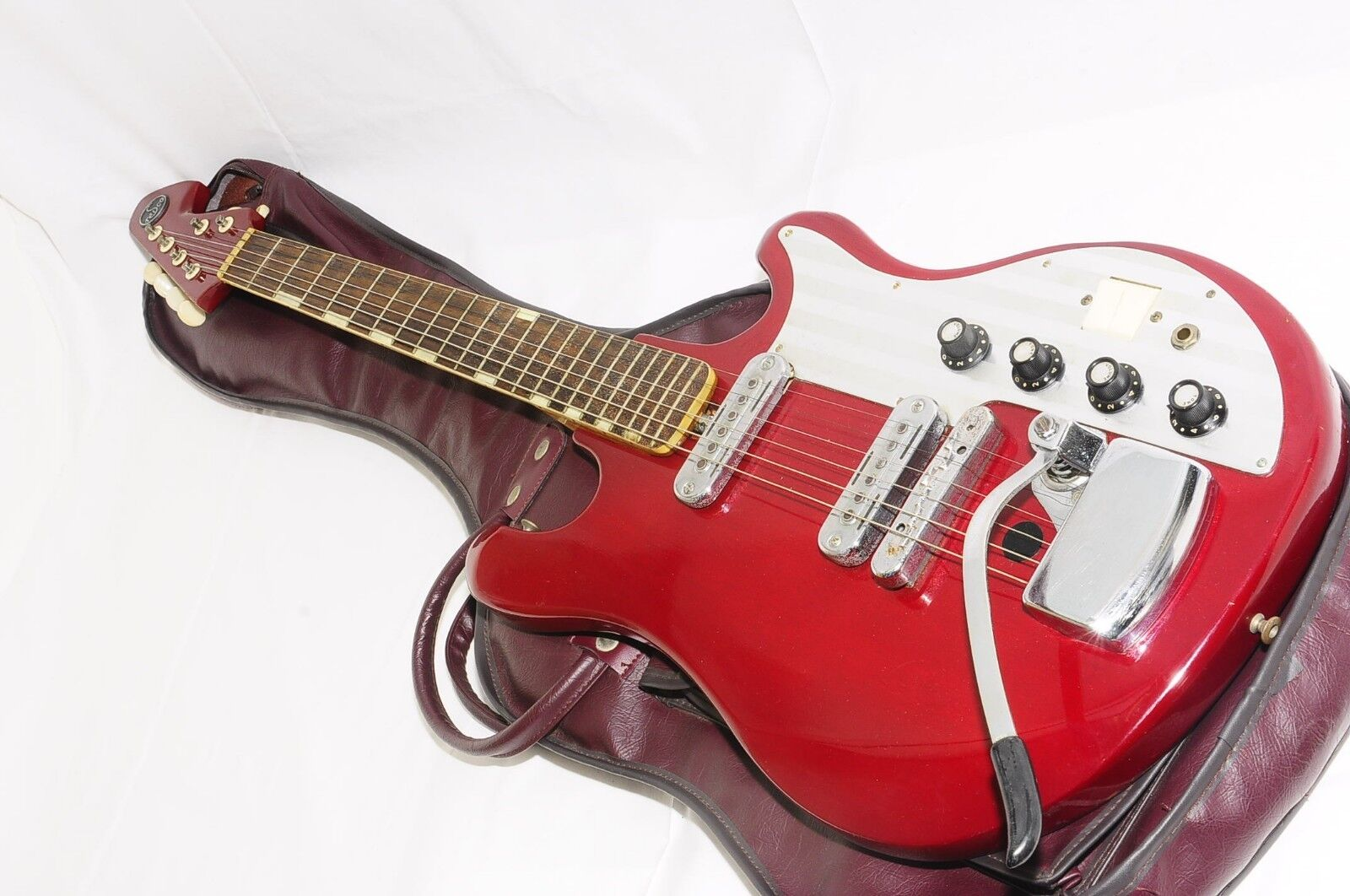 TEISCO WG-2L Original Vintage Bizarre Electric Guitar RefNo 1885