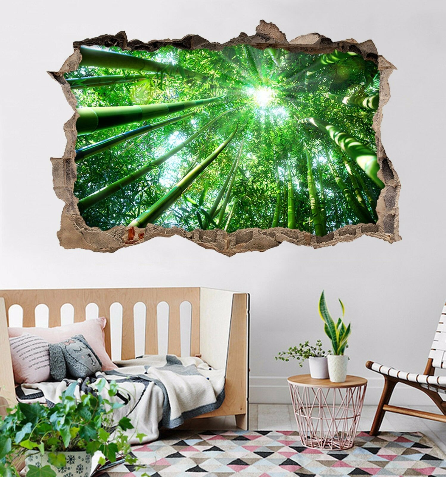 3D Foresta Di Bambù 155 Parete Murales Adesivi Decal Sfondamento AJ WALLPAPER IT