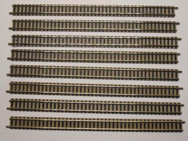 FLM PICCOLO 9100 gerades Gleis 222mm 8 Stück (34438)