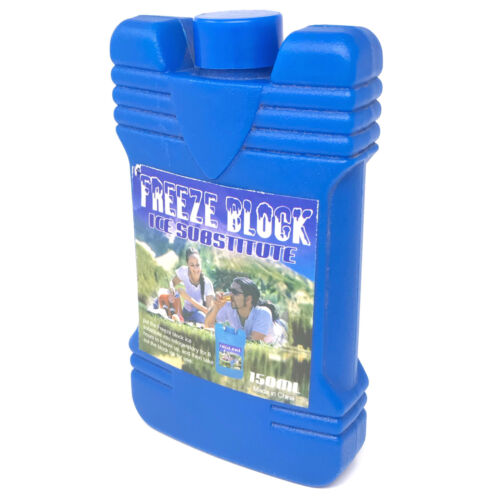 Ice Freezer Block Brick Blocks Cooler Bag Box Picnic Travel PackBlue