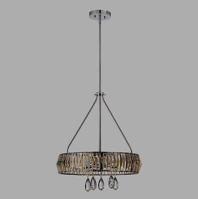 5 Light Crystal Chandelier Ceiling Pendant Compare @ $678+ Savoy House Lancaster