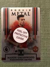 Mason Greenwood 2019-20 Panini Impeccable Rookie Metal 21/50 Manchester United