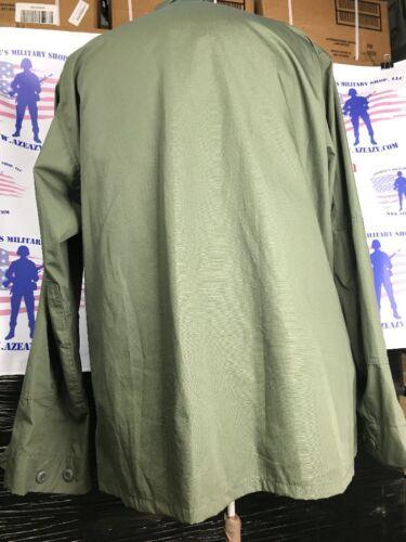 OD Green BDU Tactical Military Uniform 4-Pocket Coat Propper 60//40 Ripstop