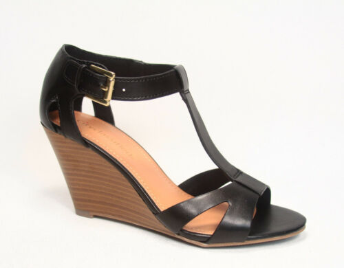 Women/'s Causal T-Strap Open Toe Ankle Strap Wedge Sandal Shoes NEW Size 5.5-10