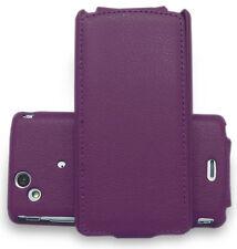Handy Tasche f. Sony Ericsson Xperia Arc S  Lila Hülle Case  Ausverkauf