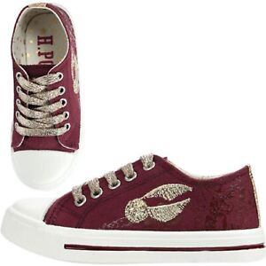 37bf46e8de boys girls harry potter pumps hogwarts snitch trainers shoes teens uk ...