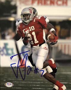 Ted Ginn Jr Ohio State Buckeyes Signed 8x10 Photo