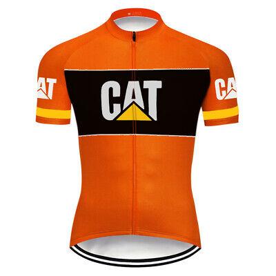 Cycling Jersey Mens 2019 Sports Bike Top Short Shirt bib Maillot Cat MTB Jacket