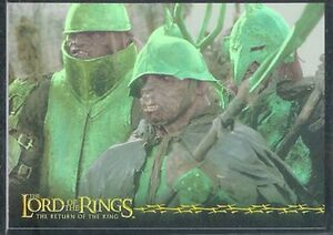 Lord Of The Rings TTT Prismatic Foil Chase Card 10 Of 10