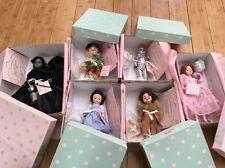 "Madame Alexander Wizard Of Oz Whole Set 8"" Dolls & 10"" Witch Dolls NIB RARE!"