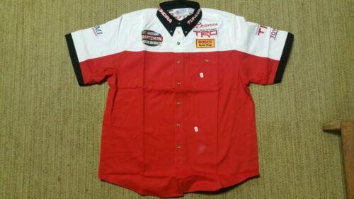 NEW craftsman TOYOTA Racing shirt Size LARGE Nascar