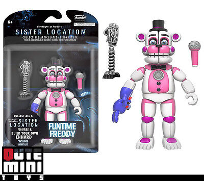 "FUNKO FIVE NIGHTS AT SISTER LOCATION FUNTIME FREDDY 5/"" ACTION FIGURE 13741"