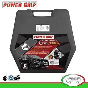 Catene-da-Neve-Power-Grip-12mm-SUV-Gruppo-250-Gomme-265-70r15-Mitsubishi-L200