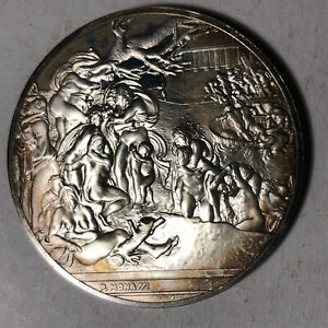 The-Universal-Flood-The-Genius-of-Michelangelo-1-26oz-Sterling-Silver-Medal