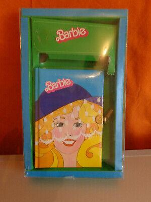 Journal intime avec serrure 13,5 x 13,5 cm Barbie