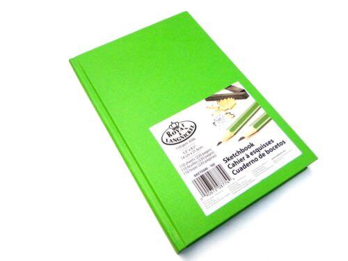 A4 A5 Premium Artista Dibujo Dibujo Almohadillas de libro de tapa dura 220 páginas papel 110gsm