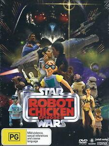 Robot-Chicken-II-2-Star-Wars-Animation-Fantasy-Comedy-NEW-DVD
