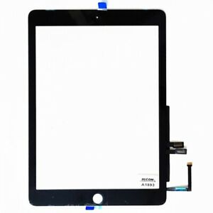 Bucom Display Touch Screen Front Glas 9,7 f/ür iPad 6 Scheibe 2018 Digitizer A1893 A1954
