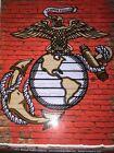 Marine Corps (Eagle, Globe & Anchor) Sticker. Large Size