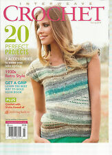 INTERWEAVE CROCHET,  SPRING, 2014 ( 20 PERFECT PROJECTS  * GET A GRIP )