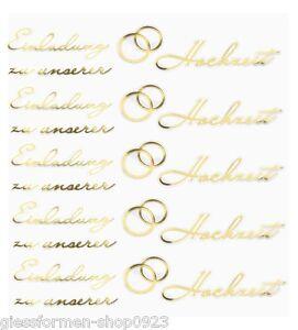 Das Bild Wird Geladen Hobby Design Sticker Einladung Hochzeit 3452409 NEU
