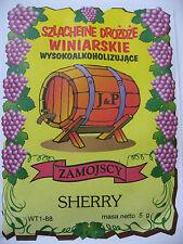 Weinhefe Sherry 5g Trockenhefe  Wein selber machen