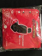 SNAP ON RACING  BLACK SEAT COVER NEW SAS TECHNOLOGY ORIGINAL