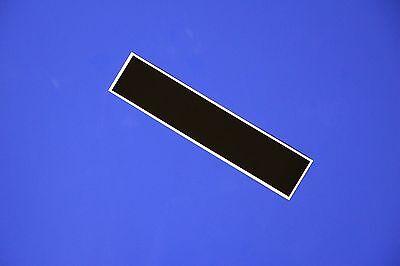 "Royal Blue 12/"" X 60/""  Vinyl Windshield Banner Decal Racing Rally Striping"