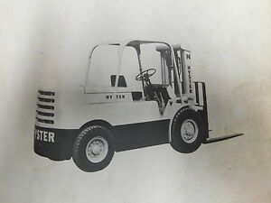 ghdonat.com Hyster H60C Forklift Service Manual Agricultural ...