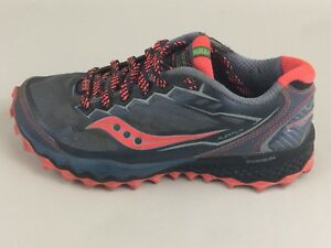 2c11cf846be6 Image is loading Saucony-Peregrine-6-Trail-Running-Shoe-Sneaker-Womens-