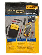 Fluke Industrial Electrician Combo Kit 87ve2 Kit Nwt New In Box