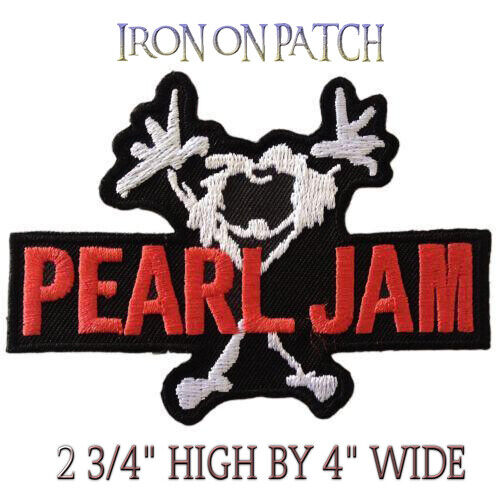 PEARL JAM IRON ON PATCH