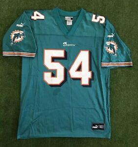 Details about Vintage Zach Thomas #54 Miami Dolphins Puma NFL Jersey. Men's L