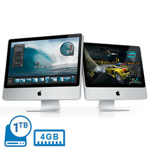 APPLE IMAC POWERFUL 1TB 4GB CORE 2 DUO 20034 MAC OS X EL CAPITAN DVDRW REFURBISHED - Romford, United Kingdom - APPLE IMAC POWERFUL 1TB 4GB CORE 2 DUO 20034 MAC OS X EL CAPITAN DVDRW REFURBISHED - Romford, United Kingdom
