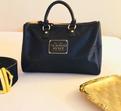 Authentic {Victoria's Secret} Black/Fuchsia Lady G
