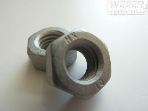 Sechskantmutter ISO 4032 M10 Kl.10 zinklamellenbeschichtet Mutter SW 16